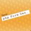 Aplicación phpFormGenerator