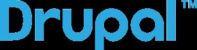 logo van Drupal webhosting voor uw cms