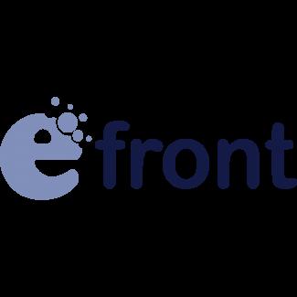 logo van eFront webhosting voor uw educatie