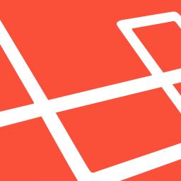 logo van Laravel webhosting voor uw kader