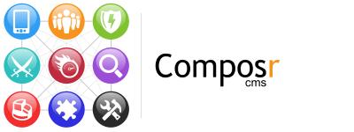logo van Composr CMS webhosting voor uw cms