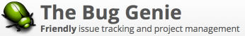logo van The Bug Genie webhosting voor uw projecten