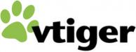 logo van Vtiger webhosting voor uw crm
