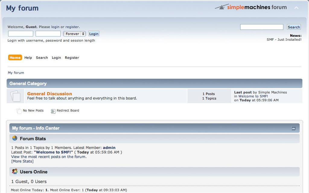 Simple Machines Forum - Equiphase Limited - UK Web Hosting