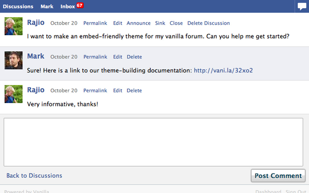 Vanilla Forums - Equiphase Limited - UK Web Hosting